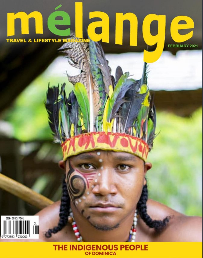 February 2021 Cover The Indigenous People of Dominica
