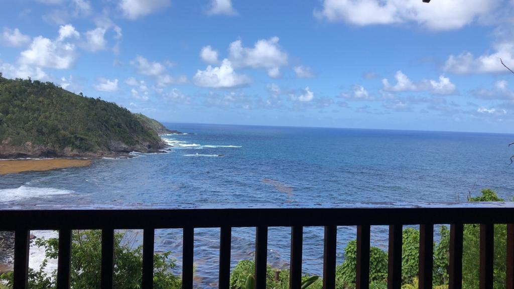 View of the ocean from Ayahora Villa
