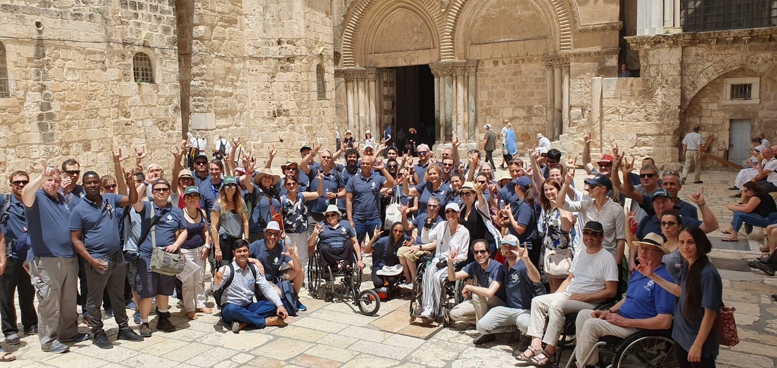 Access Israel Preconvention accessible tour of old