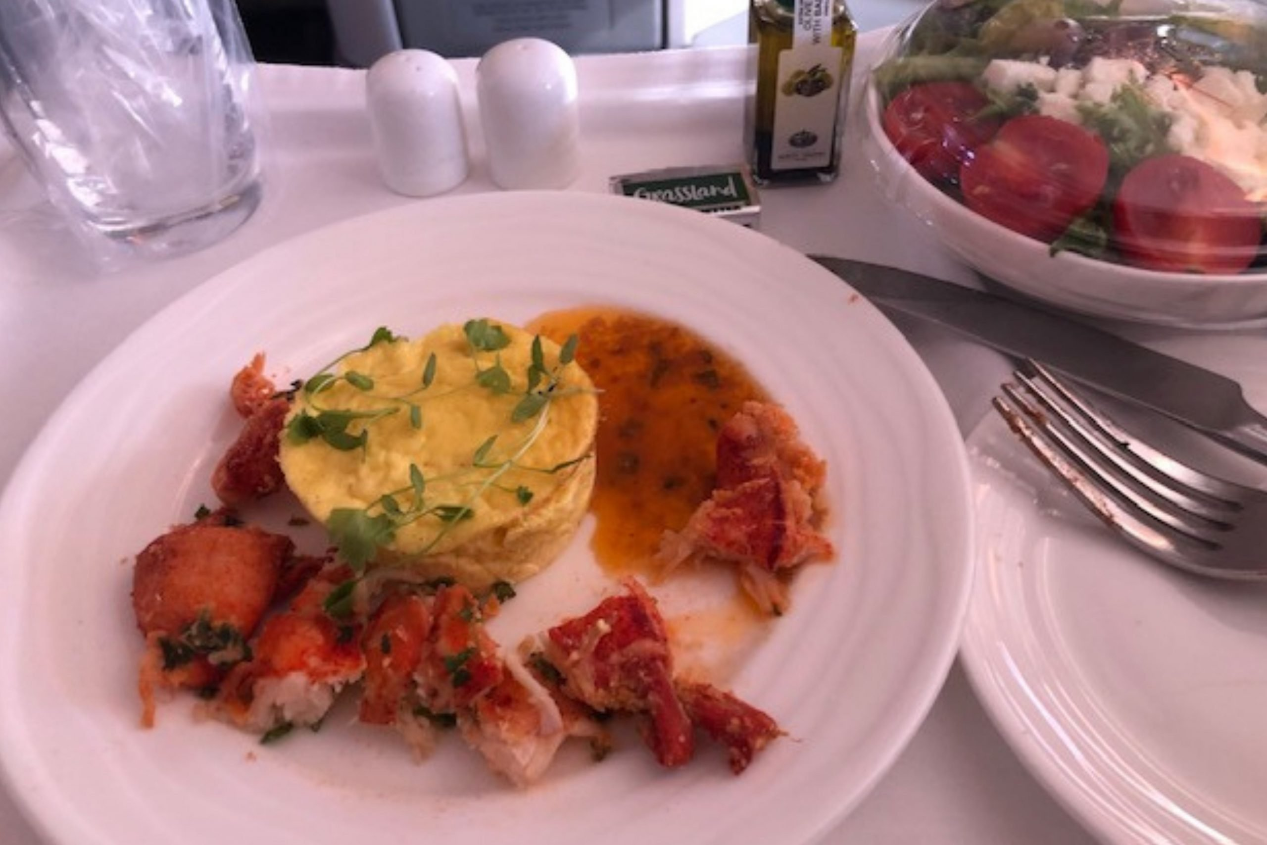 Meals on Emirates Airlines